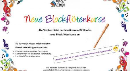 Neue Blockflötenkurse